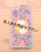 iphone5 ケースメキシコ刺しゅう1