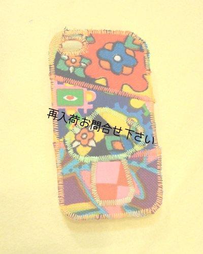 画像1: iphone4SケースパッチきのこE