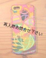 iphone5 ケースパッチフラワー H