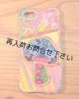 iphone5 ケースパッチきのこ M