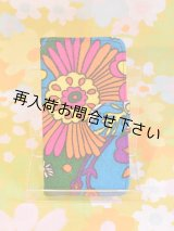 iPhone6&6Sケース 手帳型 ヴィンテージ生地 1