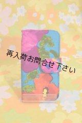 iPhone6&6Sケース 手帳型 ヴィンテージ生地