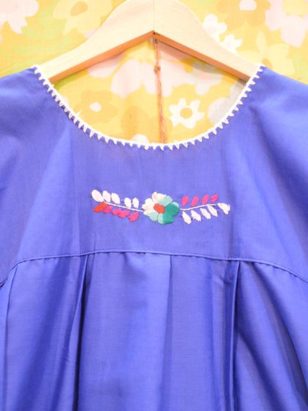 画像5: メキシコ刺繍ワンピース 21