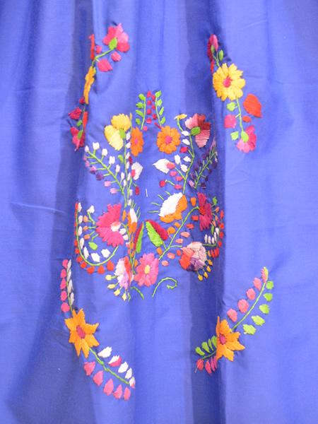 画像2: メキシコ刺繍ワンピース 22