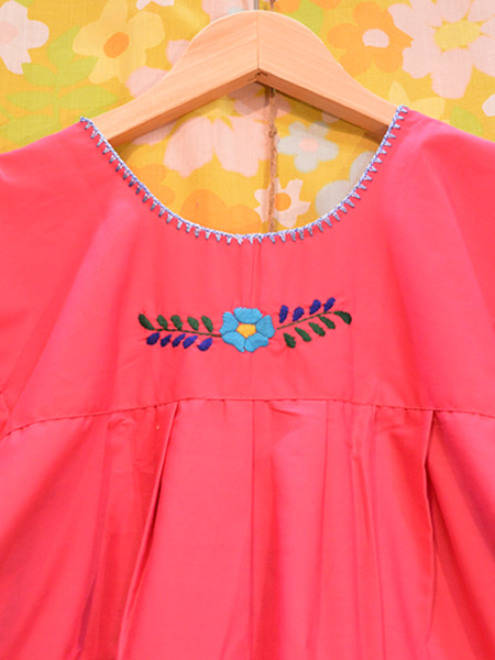 画像5: メキシコ刺繍ワンピース 17