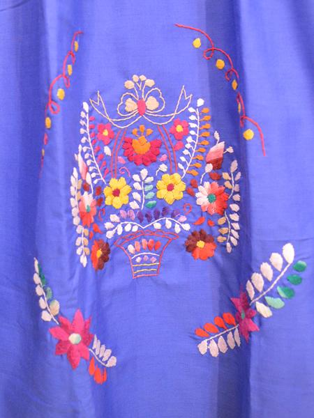 画像2: メキシコ刺繍ワンピース 21