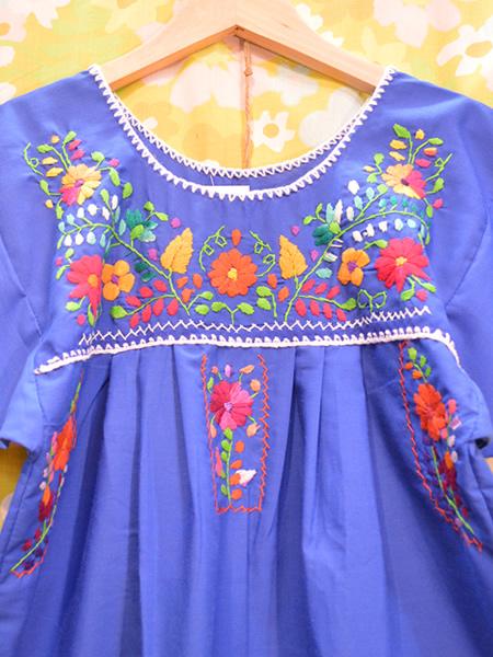 画像3: メキシコ刺繍ワンピース 22