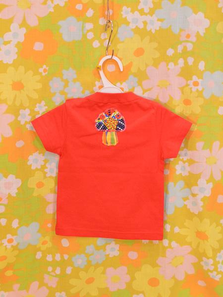 KID'SきのこTシャツ 70 RED